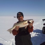 Saginaw Bay Fishing Report 02/27/2014