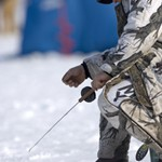 Saginaw Bay Ice Fishing Report 02/10/2014