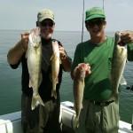 August 7, 2014 Saginaw Bay Fishing Report