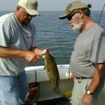Saginaw Bay Fishing Report 08/14/2014